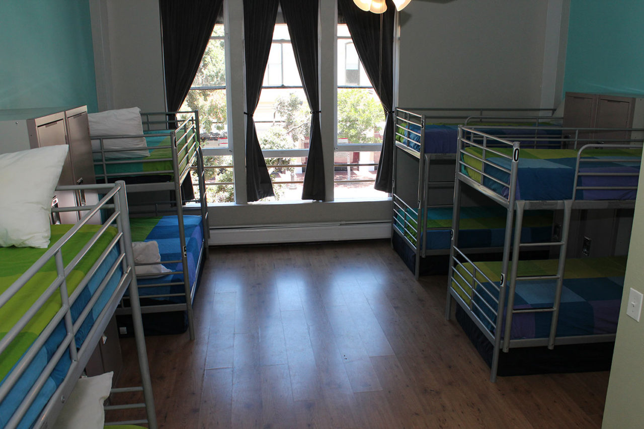 10 Bed Dorm at HI San Diego Downtown Hostel