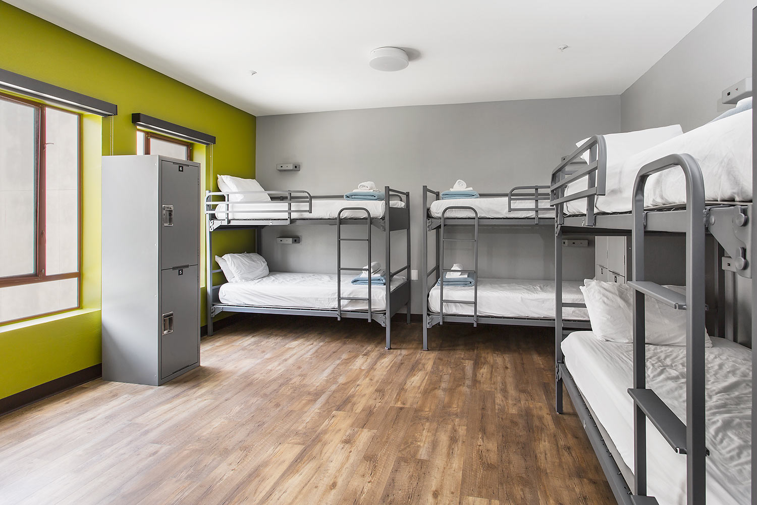 Room View with bunk beds
