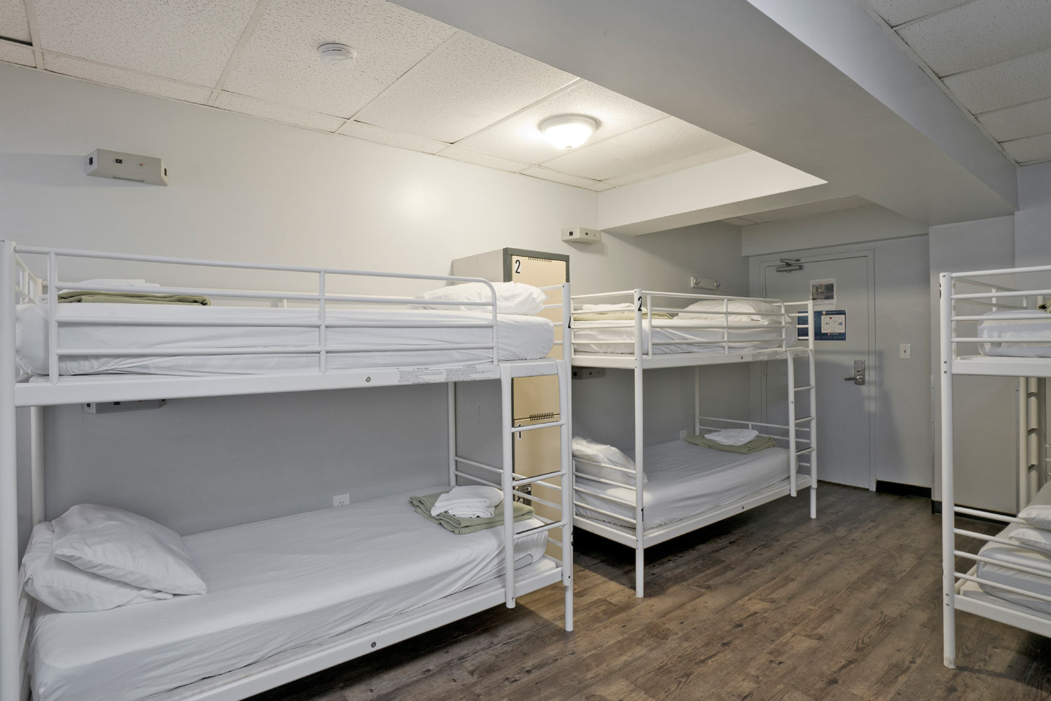 Room view with 6 bunk beds