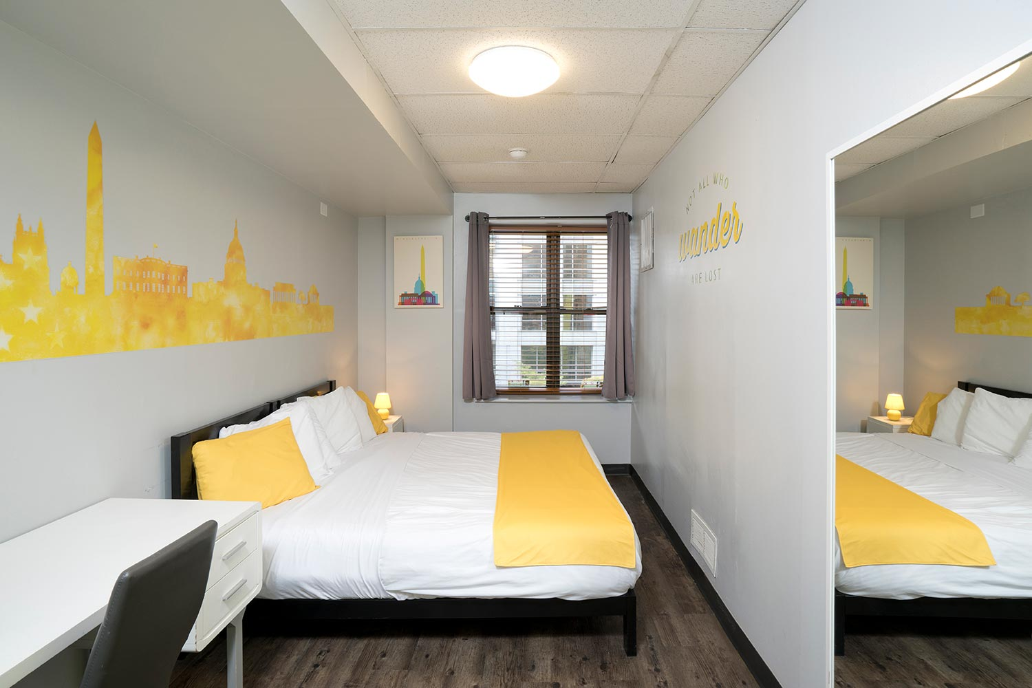Room View with double bed