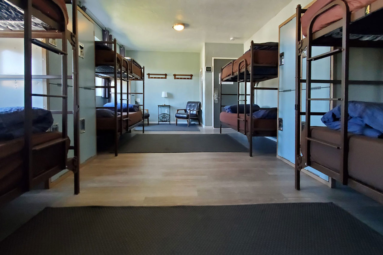 Coed Dorm at HI San Diego Point Loma Hostel.