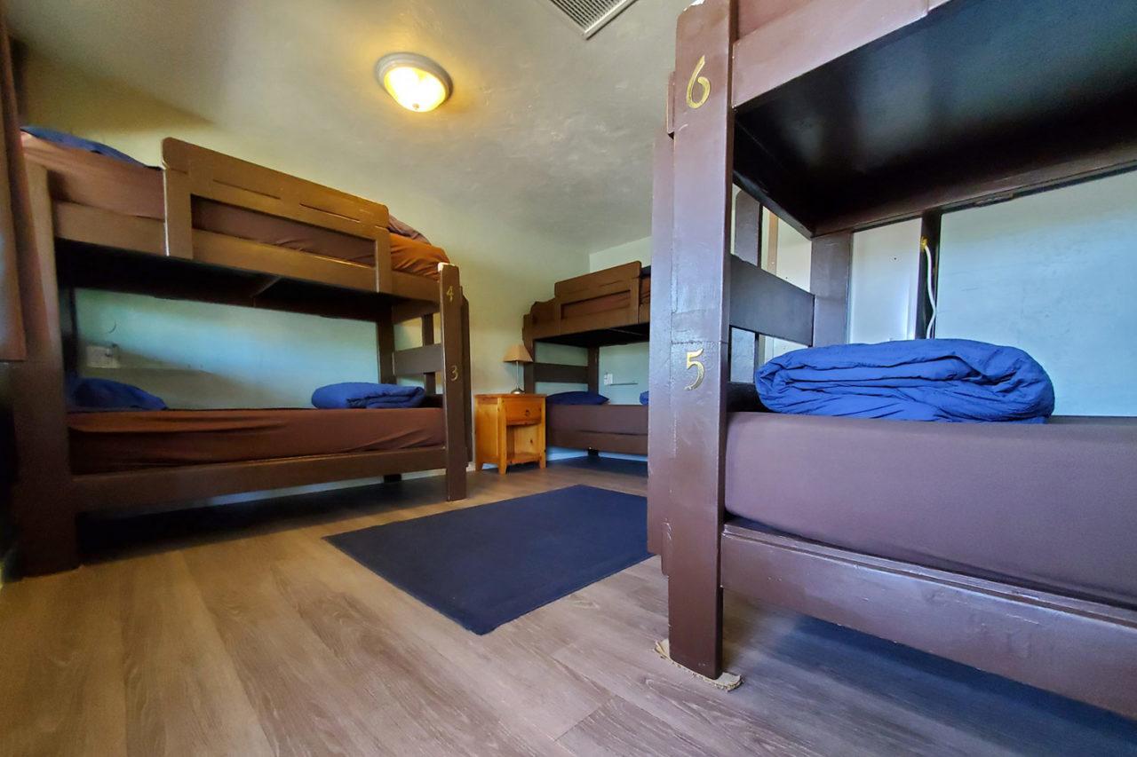 Female dorm room at HI San Diego Point Loma