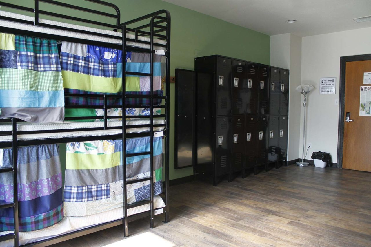12 bed dorm in HI Milwaukee.