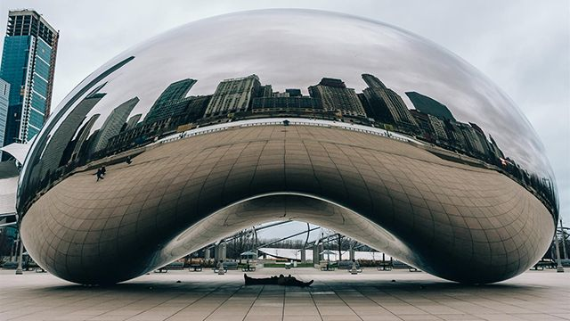 Cloudgate in Chicago