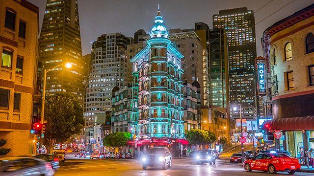 Columbus Tower in San Francisco