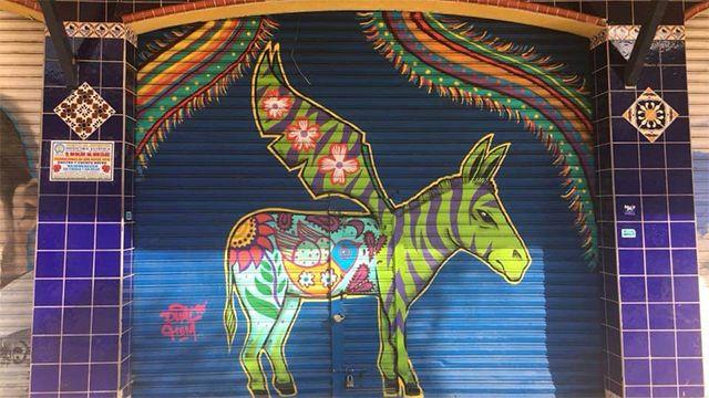 mural in Tijuana