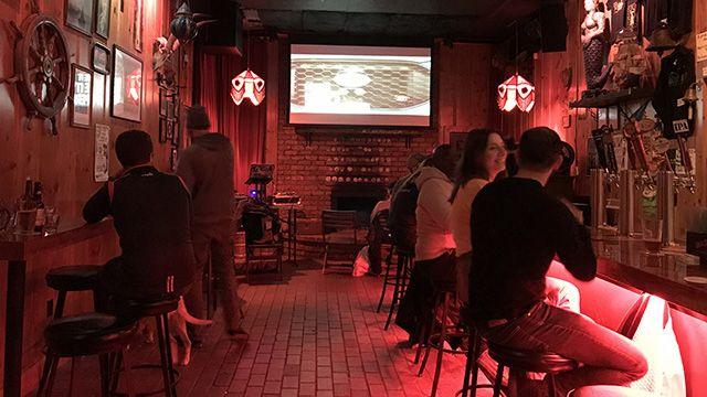 The Riptide Bar in San Francisco