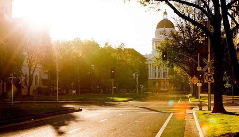 California Capitol building in Sacramento
