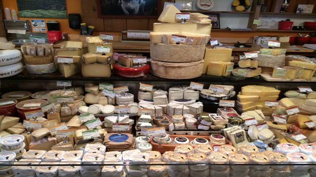 Tomales Bay Foods cheese case in point reyes
