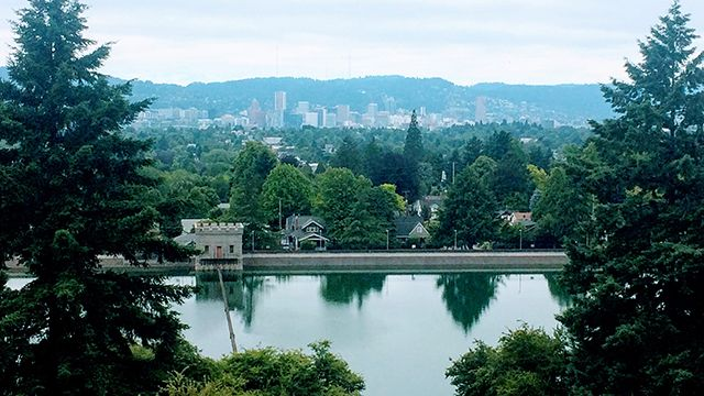 Mount Tabor in Portland OR