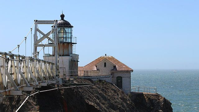 view of point bonita light house