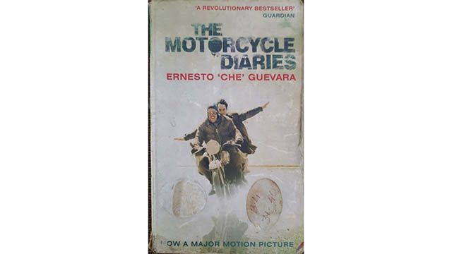 Motorcycle Diaries Che Guevara book cover