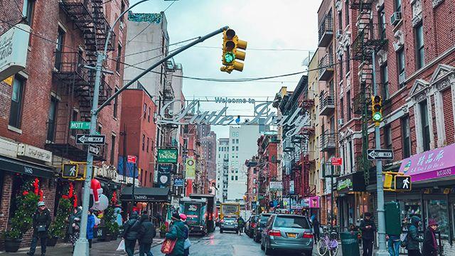 Manhattan's Little Italy sign