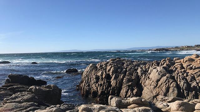 asilomar beach in monterey
