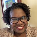 a headshot of HI USA board member Marcella McCoy-Deh